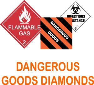 DANGEROUS GOODS DIAMONDS