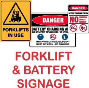FORKLIFT & BATTERY